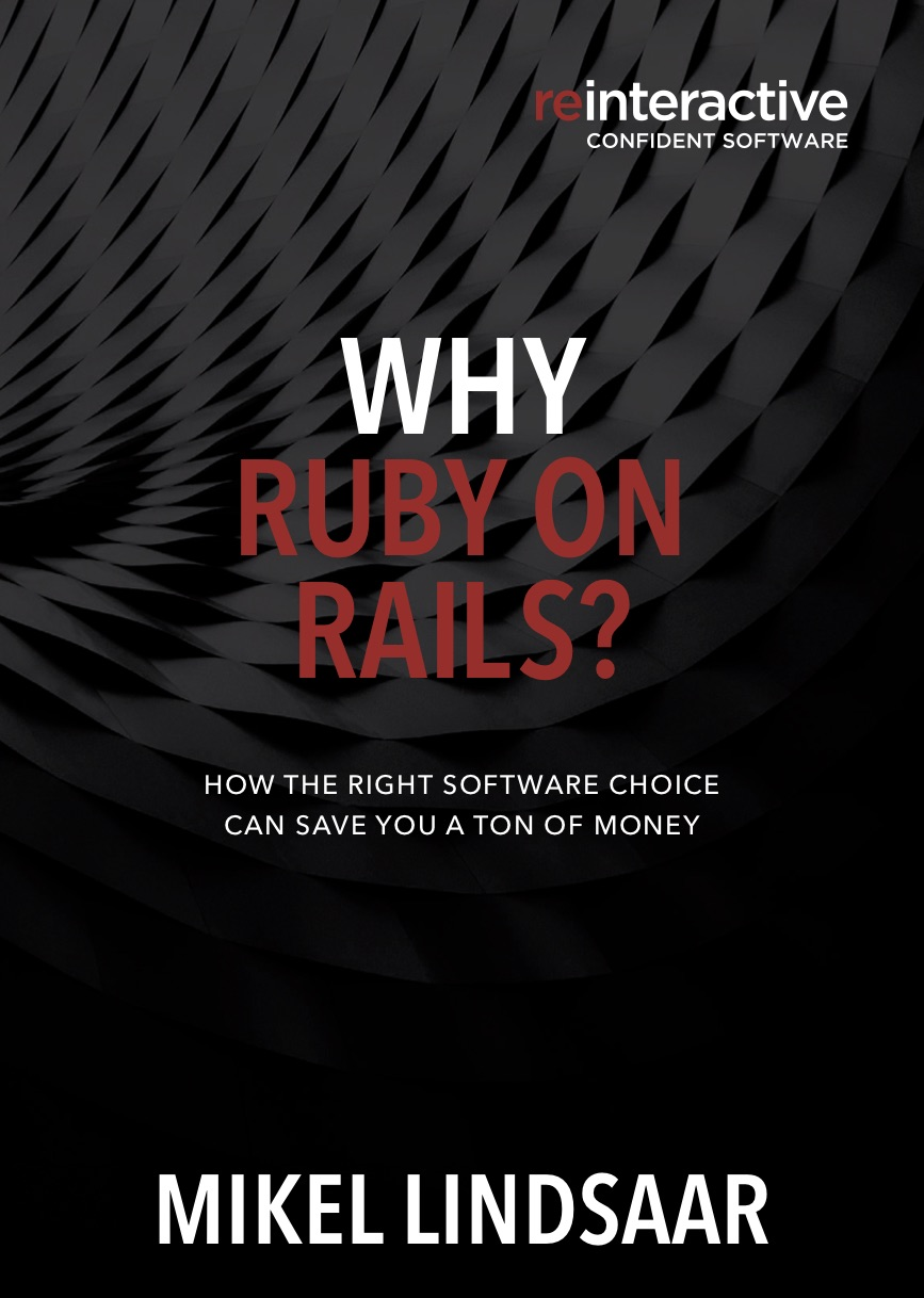Why ruby on rails book cover